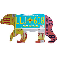 New Mexico License Plate Black Bear
