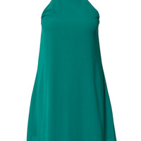 High Neck Swing Dress, Club L
