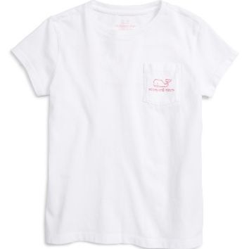Vineyard Vines Vintage Whale Pocket Tee (Toddler Girls, Little Girls & Big Girls) | Nordstrom
