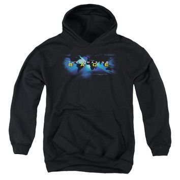 Amazing Race - Faded Globe Youth Pull Over Hoodie