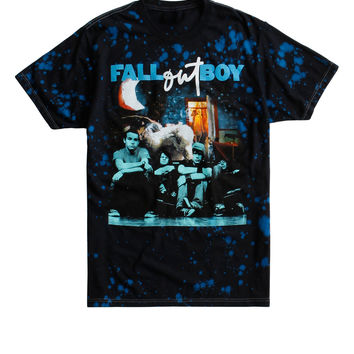 Fall Out Boy Take This To Your Grave Infinity On High Blue Wash T-Shirt