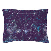 Cosmic Watercolor Pillow Shams