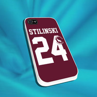 Teen Wolf STILINSKI Lacrosse Jersey For iPhone 4/4s,5/5s/5c, Samsung S3,S4,S2, iPod 4,5, Htc one