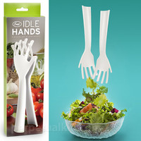 IDLE HANDS SALAD SERVERS