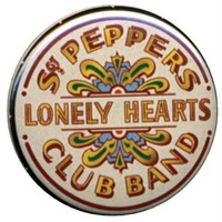 One Inch Beatles Sgt. Pepper 'Lonely Hearts' button / pin