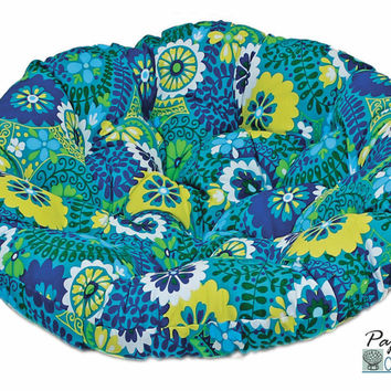 "52"" Papasan Cushion in Outdoor Fabric (Cushion Only)"