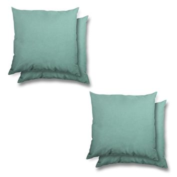Stratford Home Indoor/ Outdoor Sunbrella Pillows Set (Glacier)