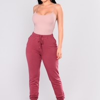 On The Daily Basic Jogger - Mauve