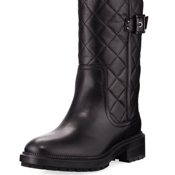 Aquatalia Layla Quilted Leather Boot