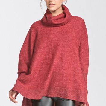 Winter is Calling Sweater - Burgundy