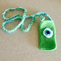 Monsters Inc Mike Cell Phone Pouch