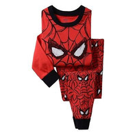 Boys Baby Kids Spiderman Sleepwear Nightwear Pajamas Set Outfits Xmas Gift 2-8Y