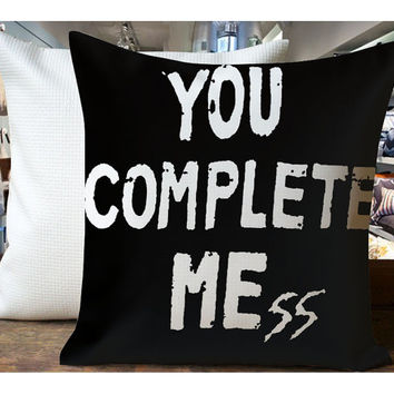 You Complete Me - Housewares , Home Decor , Pillow Case One Side / Two Sides Design