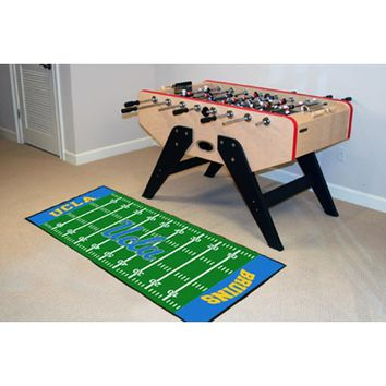 Fan Mats 8471 UCLA University of California, Los Angeles Football Field Runner: 2 ft. 6 in. x 6 ft. Mat - (In Runner)
