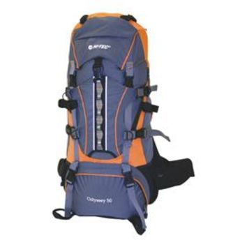 HI-TEC Odyssey 50L Frame Pack Backpacks & Waist Packs
