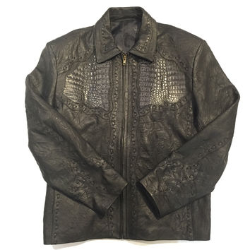 Safari Crocodile/Lambskin Laced Jackets