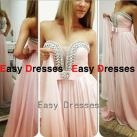 Sexy dress beading dress Prom dress Bridesmaid dress Fashion dress Party Evening Dresses 2014