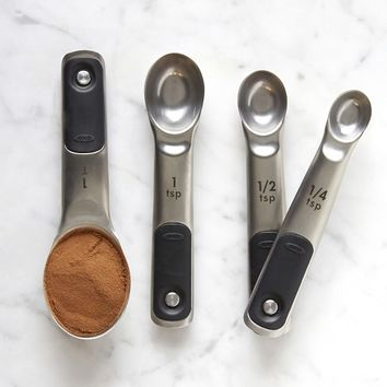 OXO Stainless-Steel Measuring Spoons