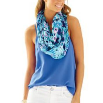 Riley Infinity Loop Scarf - Shrimply Chic - Lilly Pulitzer