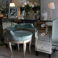 HOLLYWOOD CELEBRITY MIRRORED Desk