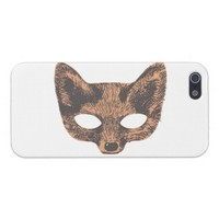 Fox Mask iPhone Case from Zazzle.com