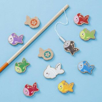 Fishing Game Wooden Toy
