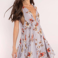 Bella Plunging Swing Dress