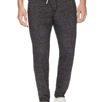 GoodLife Men's Terry Chino Sweatpants - Black -