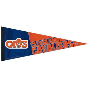 """CLEVELAND CAVALIERS """"CAVS"""" HARDWOOD CLASSIC ROLL UP PENNANT 12""""x30"""" WINCRAFT"""