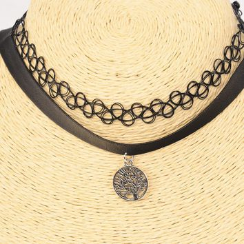 Tree of Life Choker 2 Piece