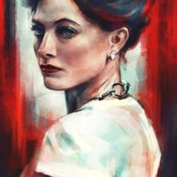 Irene Adler Art Print by Alice X. Zhang