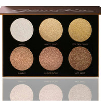 6 Colors Shimmer Shadow Highlighter Palette Brightener Highlighting Bronzer Pallete Face Contour Makeup Glow Kits Cosmetics H121