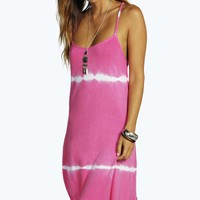 Sally Strappy Tie Dye Swing Dress
