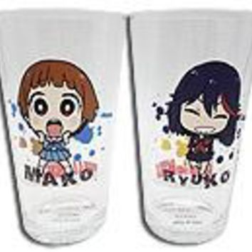 Kill La Kill - Mako And Ryuko Glass Set