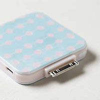 Anthropologie - Dotted Backup iPhone Battery