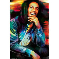 Bob Marley - Etched 22x34 Standard Wall Art Poster