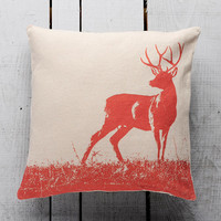Deer Decorative Pillow Cover Handmade