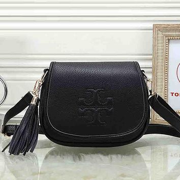 Tory Burch Women Fashion Leather Crossbody Shoulder Bag Satchel