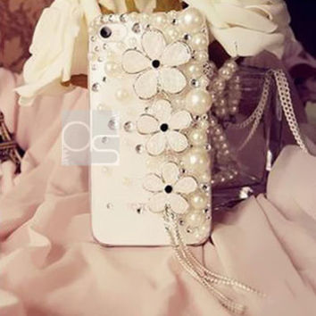 Bling iPhone 5S Case for iPhone 4 S Bling Case iPhone 5 C Cover iPhone 3 Bling Crystal Case for iPhone 4 Skin Case iPhone 3G Cover Daisy DA3