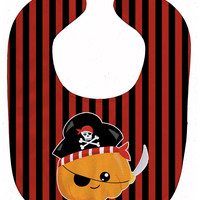 Halloween Pumpkin Pirate Baby Bib BB6962BIB