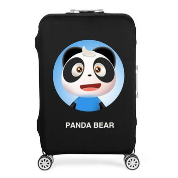 Elastic Cartoon Luggage Protective Cover