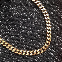 The Queens Chunky Gold Chain, Solid Brass Chain Necklace, Chain Link Necklace, Pre Order, Valentines Day Gift