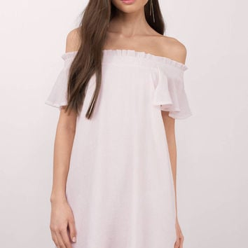 Mandy Off Shoulder Dress