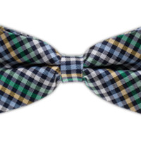 Daydream Plaid - Navy/Green (Bow Ties) | Ties, Bow Ties, and Pocket Squares | The Tie Bar