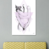 «Protection», Numbered Edition Canvas Print by eDrawings38 - From $49 - Curioos