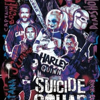 Suicide Squad Unlikely Heroes MightyPrint Wall Art