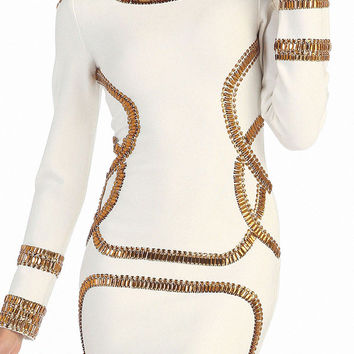 _Milan Bandage Dress