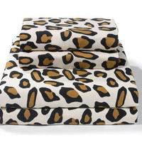 Leopard Print Sheet Sets | Animal Print Bedding by Sin in Linen