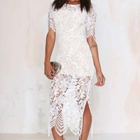 For Love and Lemons Luna Lace Dress