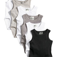 H&M 6-pack Sleeveless Bodysuits $18.74